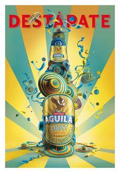 Destápate - Cerveza Aguila on Behance