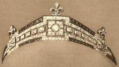Tiara Mania: Countess of Paris's Sapphire Tiara