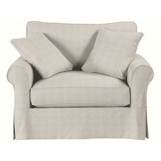 Baldwin Swivel Chair Slipcover