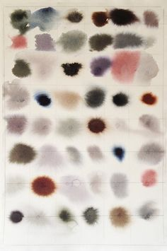 Buysomedamnart: Sparse, experimental watercolors by Lourdes.... (Arc of the World)