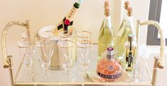 How to Style a Bar Cart with Aaron Hartselle & Bess Friday