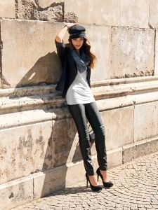 Burda Style: Damen - Hosen - Röhrenhosen - Röhrenhose - Drainpipe Pants