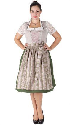 15897 Country Line Dirndl natur oliv Country Line, Vintage, Medium, Fashion, Dirndl, Gowns, Nature, Moda, Fashion Styles