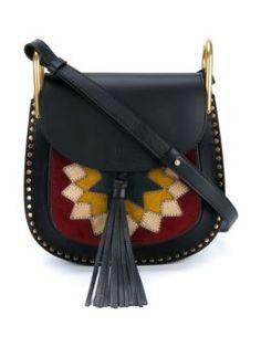 Bolsa tiracolo de couro modelo 'Hudson'