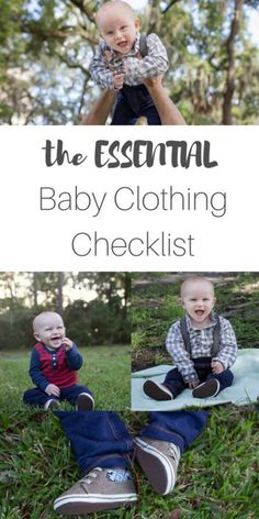 The essential baby clothing checklist featuring @cartersbabykids Original Bodysuit + shoes! A cute baby boy showing off his baby style! #LoveCarters #Sponsored