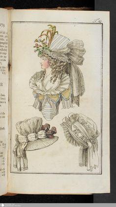 Journal des Luxus und der Moden: April, 1789.
