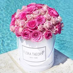 50 shades of pink  #floratheory#flowerbox#50roses#flowers#inspiration#bouquet#forher#beauty#newyork
