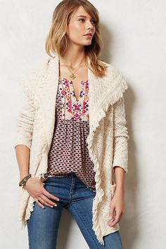 Chevron Cable Cardigan #anthropologie I've been searching for years for the perfect sweater/cardigan... I like it in mustard and charcoal.