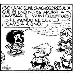 Mafalda cumple 50 años..¡¡¡Felicidades!!!