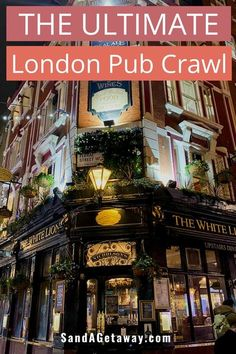 The perfect itinerary for a historic pub crawl in the center of London. Discover some of the oldest London pubs all with their own unique history! You will be taken on a self guided pub crawl through the center of London.