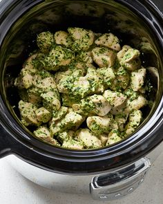 Recipe: Slow Cooker Pesto Chicken — Recipes from The Kitchn