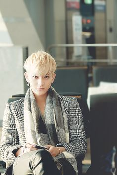 """Tao - """"don't mind me, I'm just sitting here waiting for my flight...Looking like a Million bucks"""""""