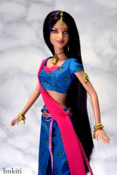 Diwali Barbie   by bnkiti