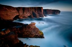 Sunset Eshaness, Shetland. by Richard Shucksmith, via 500px