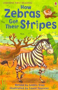 December 1, 2014. When the greedy baboon refuses to allow the other animals to drink at the pond, brave Zebra stands up to him, in a Namibian folktale describing how the zebra got his stripes.