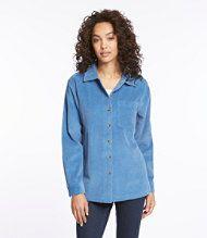 Comfort Corduroy Big Shirt