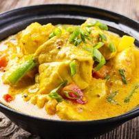 Blokjes kabeljauw in een licht zoete, pittige mangosaus. Een geweldige combinatie. Snel klaar en heel erg lekker. Weer eens een andere manier om vis te...