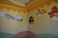 Pereti camera copii amenajati cu tapet lichid Kids Room, Interior Design, Wallpaper, Home Decor, Wall, Texture, Home Ideas, Nest Design, Room Kids