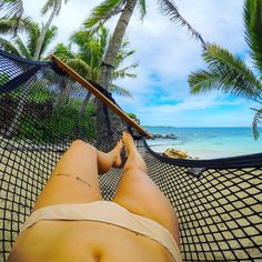 Napping in paradise. Fiji, Barefoot, Bikinis, Swimwear, Paradise, Memories, Island, Awesome, Travel
