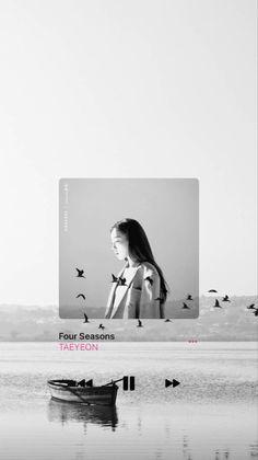 Spotify Apple, Music Wallpaper, Apple Music, Four Seasons, Polaroid Film, Kpop, Seasons