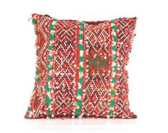Vintage Berber Kilim Cushion / Pillow Handcrafted in Morocco (C34)