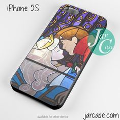 sleeping beaty stained glass Phone case for iPhone 4/4s/5/5c/5s/6/6 plus