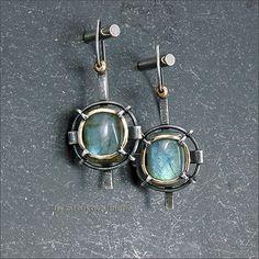Strukova Elena - author's jewelry - earrings Labradors