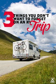 Don't forget these 3 items on your next RV trip!