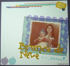 Stamping with a potatoe!! Check the tutorial... ♥