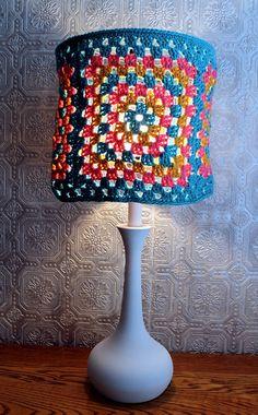 cool crochet lamps