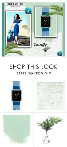 """""""Casetify 9"""" by s-o-polyvore ❤ liked on Polyvore featuring Oris, Casetify, WALL and NDI"""