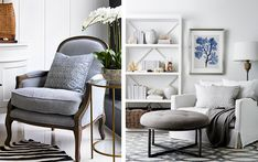 Explore - La Maison - possible look for existing armchair The Hamptons, Sydney, Armchair, Interiors, Explore, Modern, Furniture, Home, Design