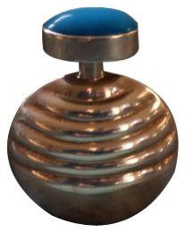 Art Deco silver perfume bottle