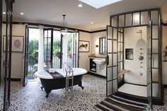 This master bathroom
