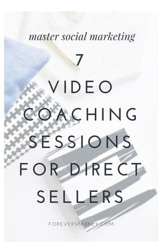 The best direct sales video coaching package available! Learn all about Social Marketing and how to grow a successful direct sales business implementing all the tips from these on-demand video coaching sessions. Direct Sales Training | Direct Sales Coaching | Direct Sales Video