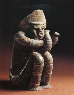 Jomon Ceramics Sitting Dogu