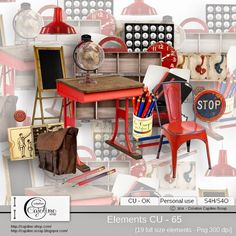 CAJOLINE-SCRAP: Elements CU - 65