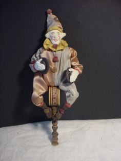 One of my clapper clowns from long ago.  Norma