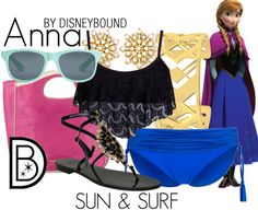 DisneyBound is meant to be inspiration for you to pull together your own outfits which work for your body and wallet whether from your closet or local mall. As to Disney artwork/properties: ©Disney Princess Inspired Outfits, Disney Inspired Fashion, Character Inspired Outfits, Disney Fashion, Princess Fashion, Disney Bound Outfits, Disney Dresses, Estilo Disney, Mac