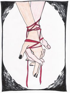 deviantART: More Like Little Red Pinky String by ~Romantique-Baker