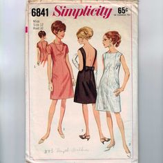 Simplicity 6841 - 1966