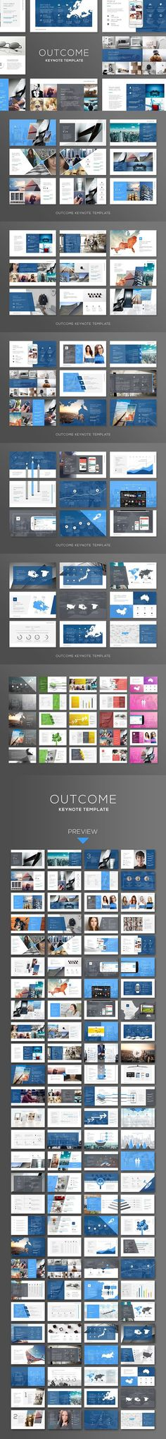 Outcome Keynote. Infographic Templates. $15.00