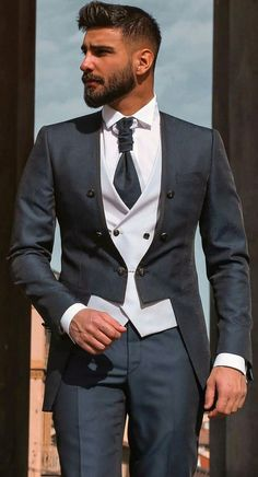 This is a 3 pieces suit (trouser,suit and waistcoat)made with the best quality materials specially for you. it's a custom made. feel free to start a conversation with us. thanks so much, you are blessed. looking good and great is what we stand for. rock this suit and look more handsome . do have a pleasurable shopping. Stylish Mens Fashion, Stylish Mens Outfits, Mens Fashion Suits, Mens Suits Style, Dress Suits For Men, Men Dress, Suit For Man, Blazer Outfits Men, Men Blazer