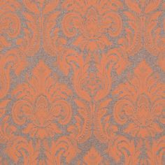 Color: Metallic Brown / OrangeTraditional and classic; damask designWashable. Strippable. Paste required; apply to wallpaperStraight Design Match; Pattern Repeat every 18 InchThis is for 1 double roll