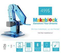 Dobot: Robotic Arm for Everyone, Arduino & Open Source by dobot.cc — Kickstarter
