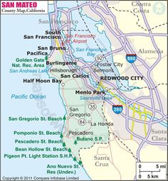 Map of Major Cities of California | MAPS | Pinterest | City, City ...