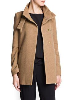 MANGO - VÊTEMENTS - Manteaux - Manteau laine structuré