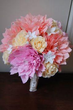 November 2009   Handmade Flowers = St. Jude's Creations