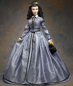 Shanty Town (Scarlett O`Hara) Vinyl Portrait Doll from Gone With The Wind. It is made by Franklin Mint and is approximately 39 cm (15.4 in) high  http://franklin-mint.minimodelfilmstuff.co.uk/franklin-mint-collectable/gone-with-the-wind-scarlett-ohara-shanty-town-vinyl-portrait-doll-franklin-mint-b11e688 Never was Scarlett O'Hara™ more independent or more vulnerable than on her fateful trip through Shanty Town. Now, Scarlett™ is portrayed just as she appeared in that powerful s...