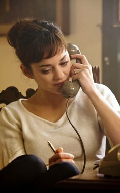Marion Cotillard ♥ seriously swooning over her right now!